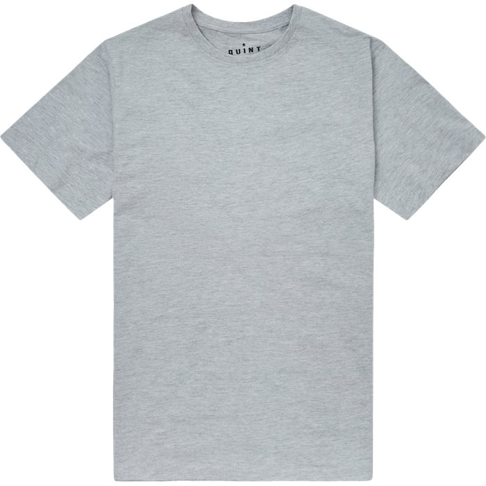 Brandon Crew Neck Tee - T-shirts - Regular - Grå